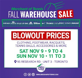 Merchant19 Fall Warehouse Sale button